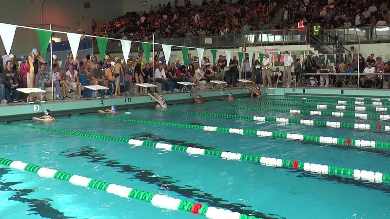 Women's 50 Backstroke Heat 02 - 2013 - SCS Club Championship