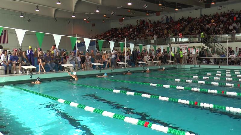 Women's 50 Backstroke Heat 03 - 2013 - SCS Club Championship