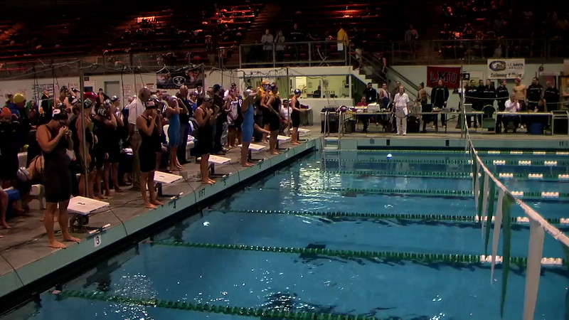 A Final Women's 200Yd Medley Relay - 2013 Mountain Pacific Sports Federation Swimming Championships