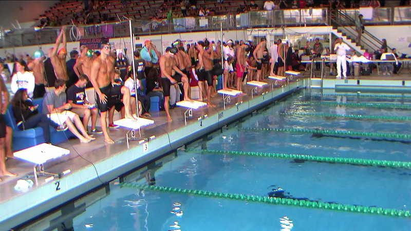 Men's 50yd Freestyle Heat 2
