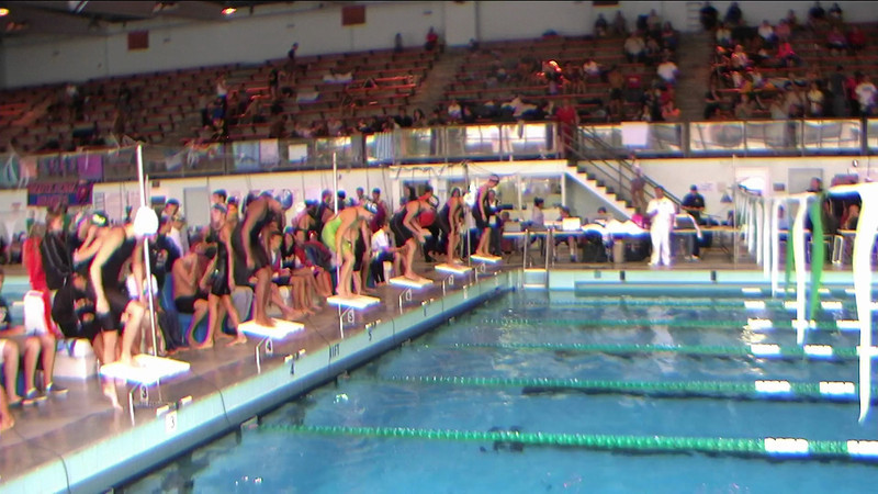 Women's 100yd IM Heat 2