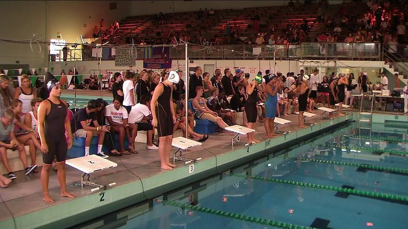 Women's 50yd Backstroke B Final