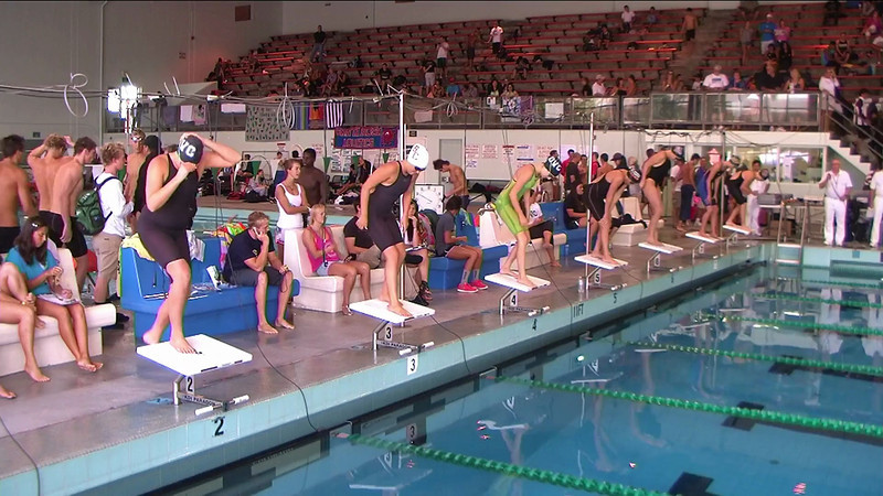 Women's 1650yd Freestyle B Final