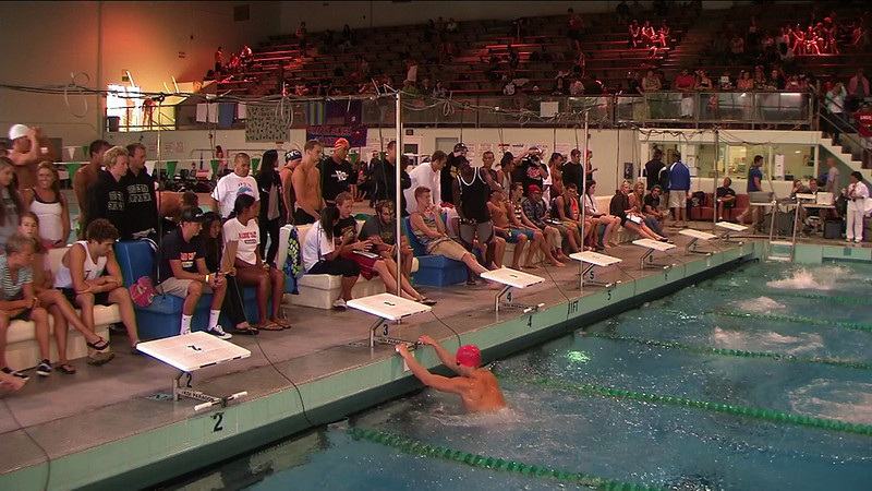 Men's 100yd Backstroke B Final