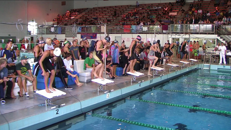 Women's 50yd Butterfly Heat 2