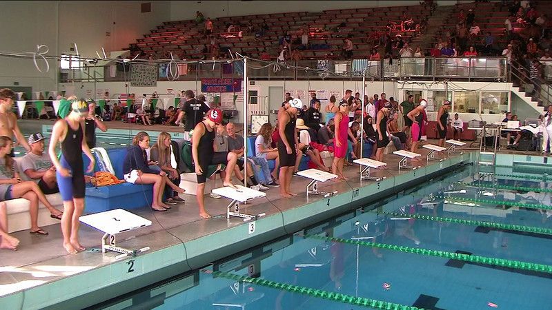 Women's 500yd Freestyle B Final