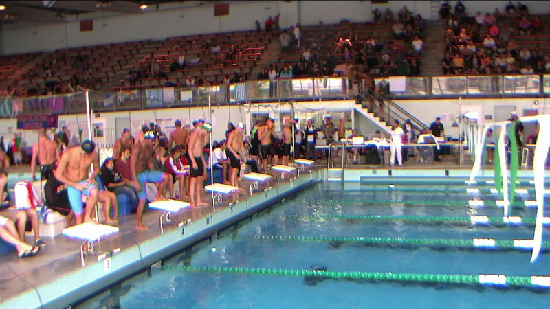 Men's 500yd Freestyle Heat 4