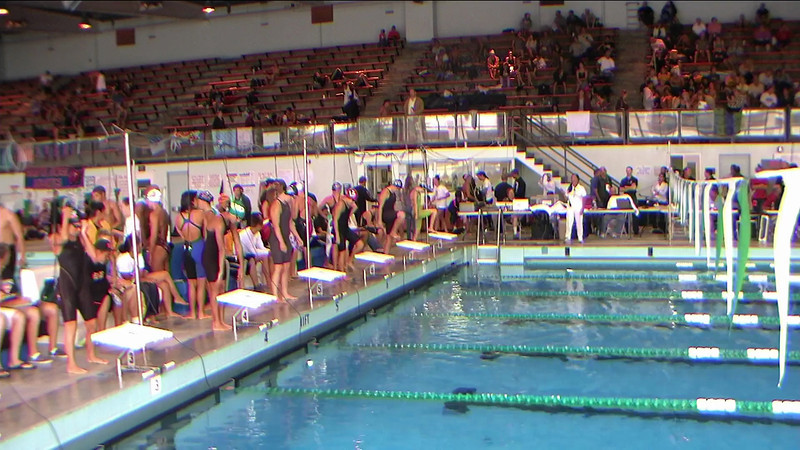 Women's 500yd Freestyle Heat 2