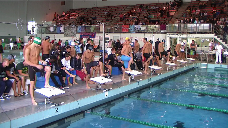 Men's 100yd Butterfly Heat 2