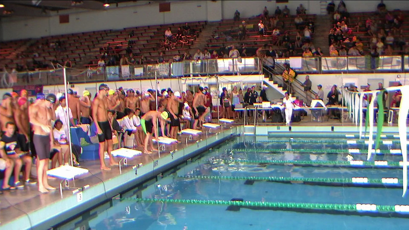 Men's 200yd Freestyle Relay Heat 1