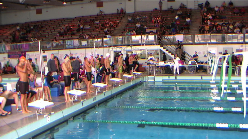 Men's 500yd Freestyle Heat 2
