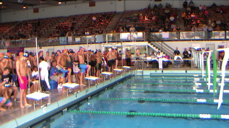 Men's 200yd Freestyle Relay Heat 2
