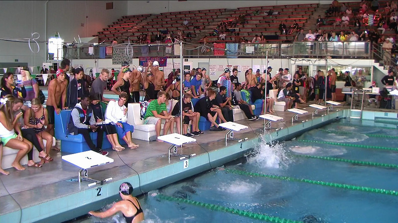 Women's 50yd Backstroke Heat 2