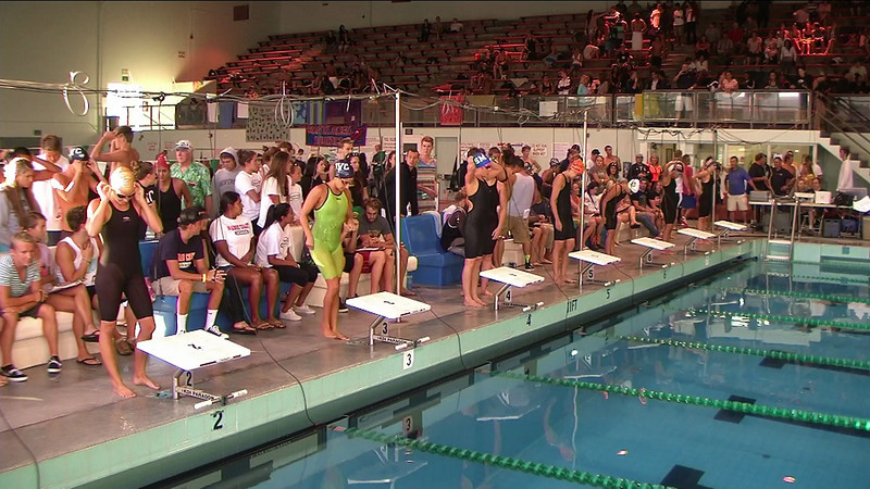 Women's 50yd Breaststroke B Final