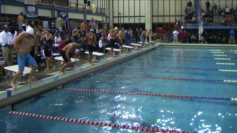 Men's 100 Backstroke C Final