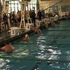 Men's 50 m Backstroke Heat 2  - 2013 SPMS Regional Championships, Commerce, Ca