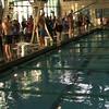Men's 50 m Backstroke Heat 6  - 2013 SPMS Regional Championships, Commerce, Ca