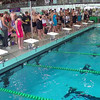 Women's 50 Freestyle Heat 4 - 2014 CCCA Swimming and Diving State Championships
