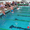 Men's 100 Backstroke Heat 3 - 2014 CCCA Swimming and Diving State Championships