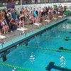 Women's 100 Individual Medley Heat 1 - 2014 CCCA Swimming and Diving State Championships