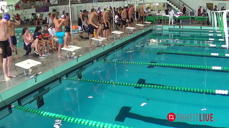 Men's 200 Breaststroke B Final - 2014 CCCA Swimming and Diving State Championships