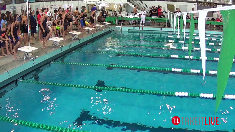 Women's 100 Butterfly Heat 2 - 2014 CCCA Swimming and Diving State Championships
