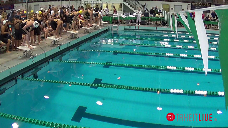 Women's 800 Freestyle Relay B Final - 2014 CCCA Swimming and Diving State Championships