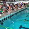 Men's 200 Individual Medley Heat 4 - 2014 CCCA Swimming and Diving State Championships