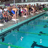 Men's 50 Freestyle Heat 1 - 2014 CCCA Swimming and Diving State Championships