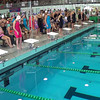 Women's 200 Free Relay Heat 1 - 2014 CCCA Swimming and Diving State Championships