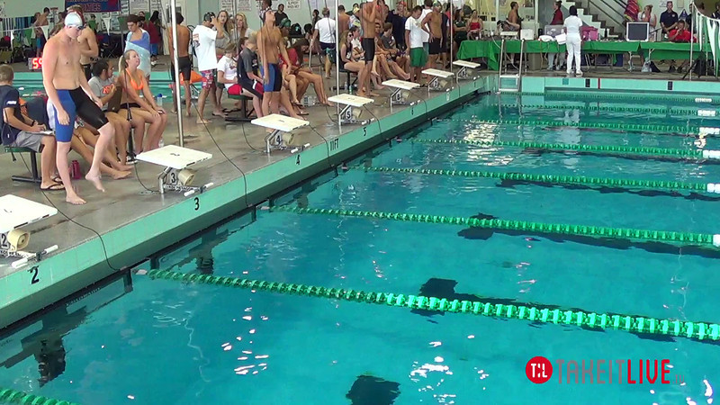 Men's 200 Individual Medley A Final - 2014 CCCA Swimming and Diving State Championships