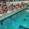 Women's 500 Freestyle Heat 2 - 2014 CCCA Swimming and Diving State Championships
