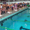 Men's 50 Freestyle Heat 2 - 2014 CCCA Swimming and Diving State Championships