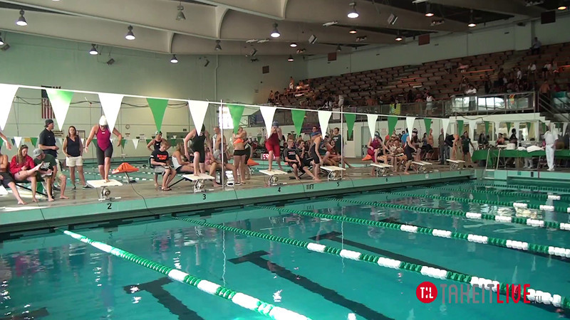 Women's 500 Freestyle B Final - 2014 CCCA Swimming and Diving State Championships