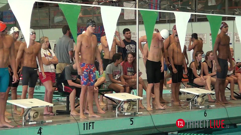 Men's 200 Free Relay A Final - 2014 CCCA Swimming and Diving State Championships