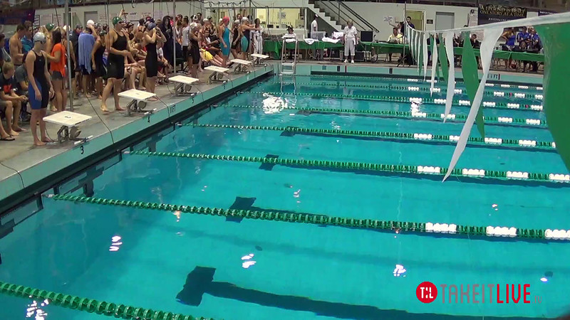 Women's 800 Freestyle Relay A Final - 2014 CCCA Swimming and Diving State Championships