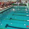Men's 100 Breaststroke B Final - 2014 CCCA Swimming and Diving State Championships