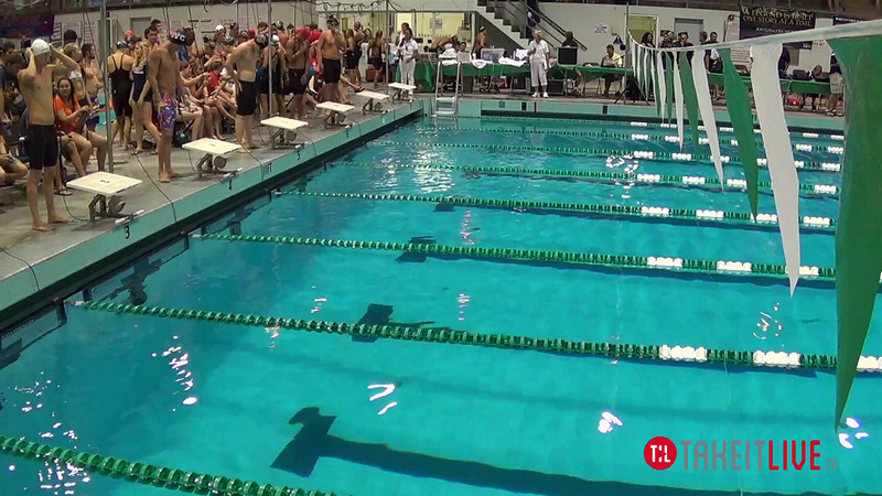 Men's 800 Freestyle Relay B Final - 2014 CCCA Swimming and Diving State Championships