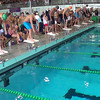 Men's 50 Freestyle Heat 4 - 2014 CCCA Swimming and Diving State Championships