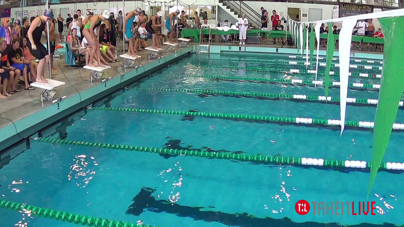 Women's 100 Butterfly Heat 3 - 2014 CCCA Swimming and Diving State Championships