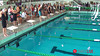 Women's 100 Backstroke B Final - 2014 CCCA Swimming and Diving State Championships