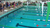 Women's 100 Freestyle Heat 1 - 2014 CCCA Swimming and Diving State Championships