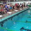 Women's 100 Individual Medley Heat 3 - 2014 CCCA Swimming and Diving State Championships