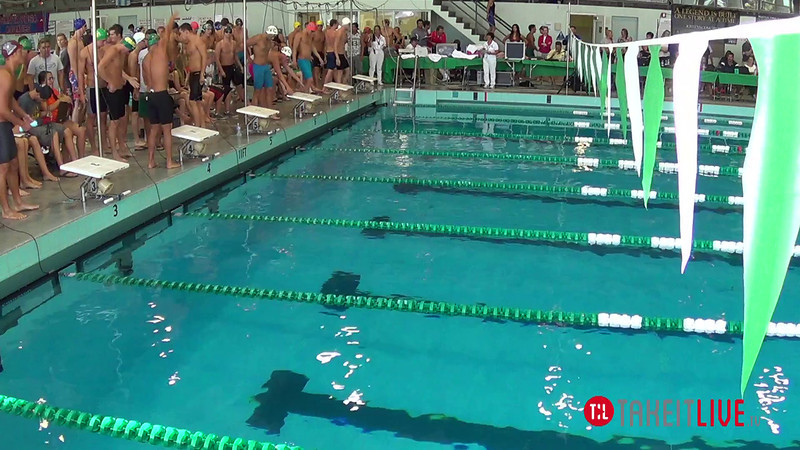 Men's 200 Medley Relay A Final - 2014 CCCA Swimming and Diving State Championships