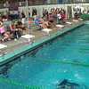 Women's 500 Freestyle Heat 1 - 2014 CCCA Swimming and Diving State Championships