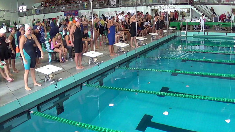 Women's 400 Medley Relay Heat 1 - 2014 CCCA Swimming and Diving State Championships