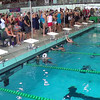 Women's 50 Freestyle Heat 2 - 2014 CCCA Swimming and Diving State Championships