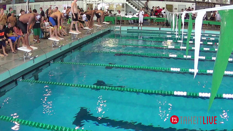 Men's 200 Butterfly Heat 2 - 2014 CCCA Swimming and Diving State Championships