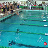Women's 100 Backstroke Heat 2 - 2014 CCCA Swimming and Diving State Championships