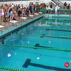 Women's 50 Breaststroke Heat 1 - 2014 CCCA Swimming and Diving State Championships